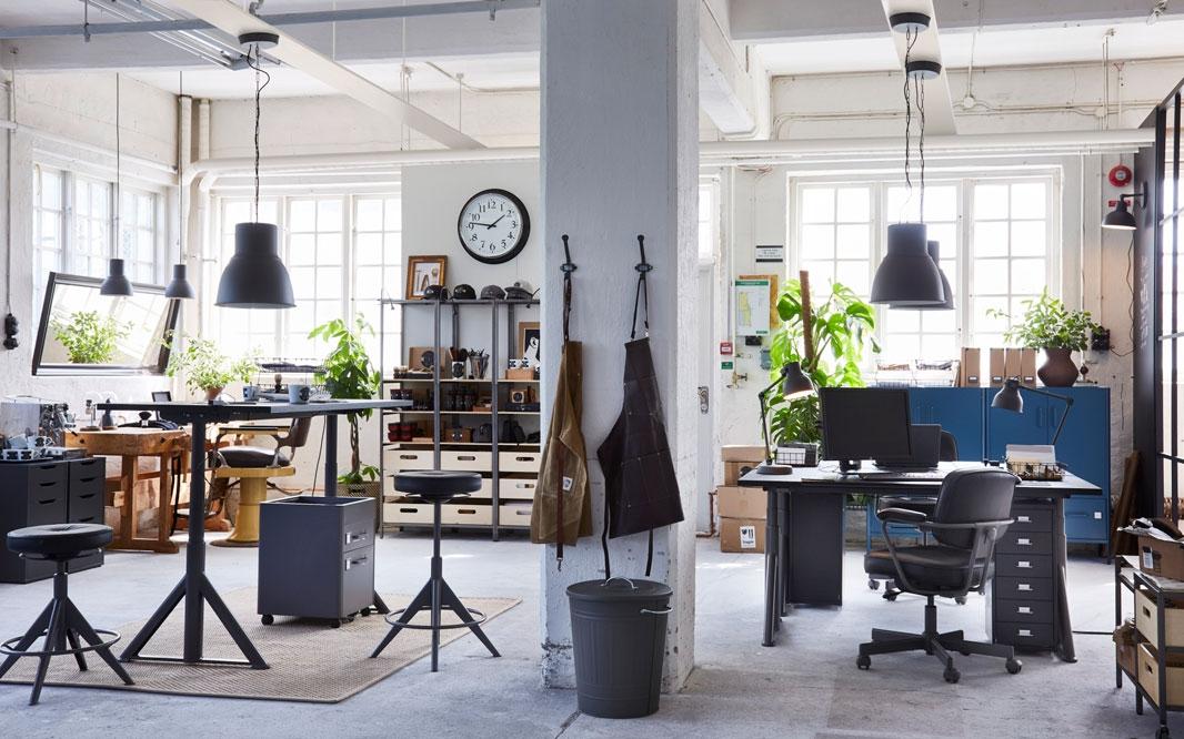 2 в 1: офис и мастерская