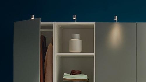 Освещение шкафов