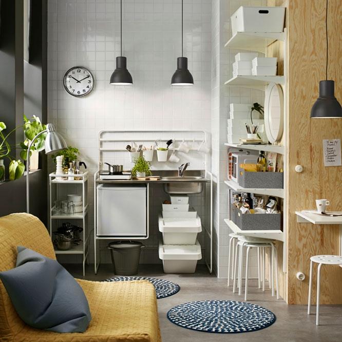 Небольшая кухня в общежитии