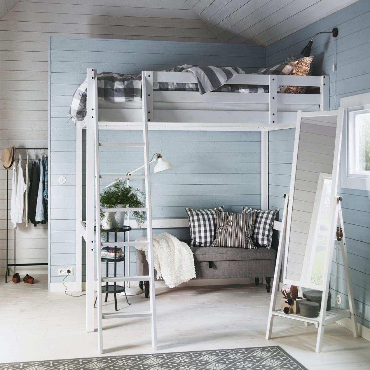 Практичная спальня-гостиная: 2-в-1
