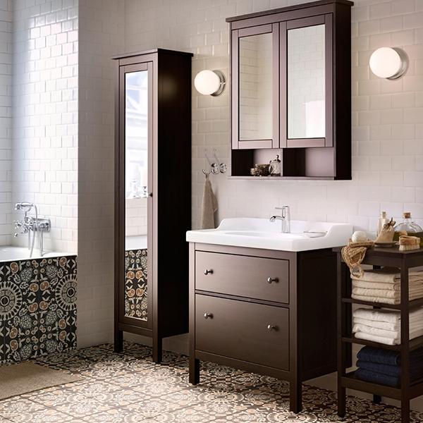 Просторная традиционная ванная