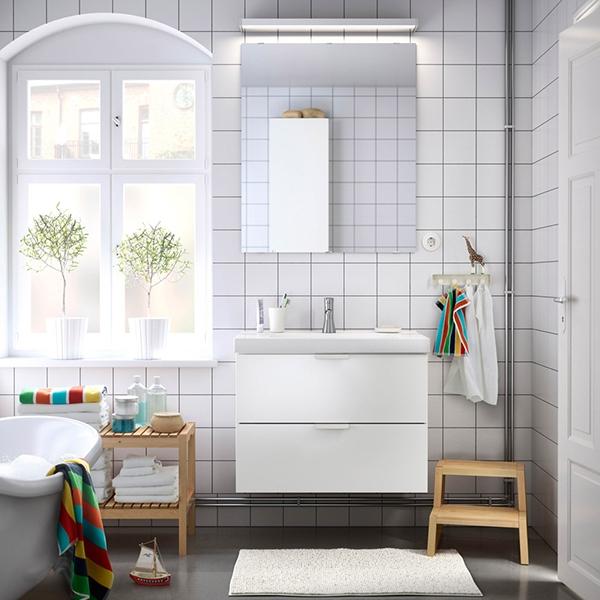 Освежите свою ванную в Скандинавском стиле