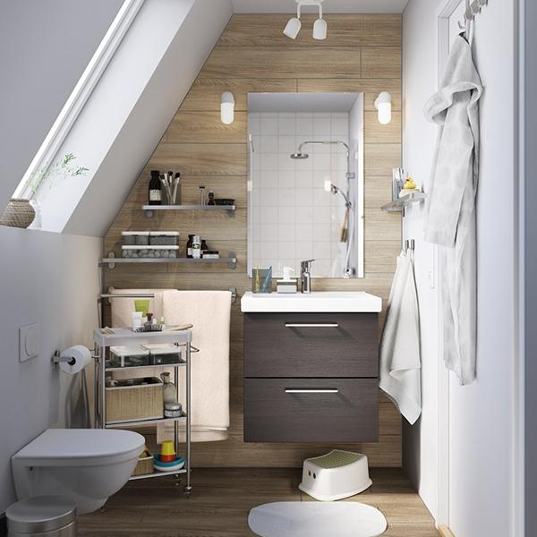 Маленькая, но идеально организованная ванная