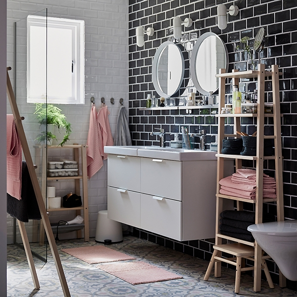 Организованная ванная добавит энергии