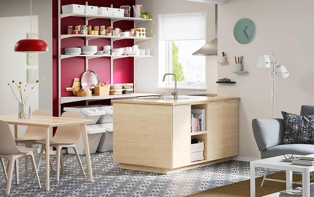 Кухня для ограниченного пространства и скромного бюджета