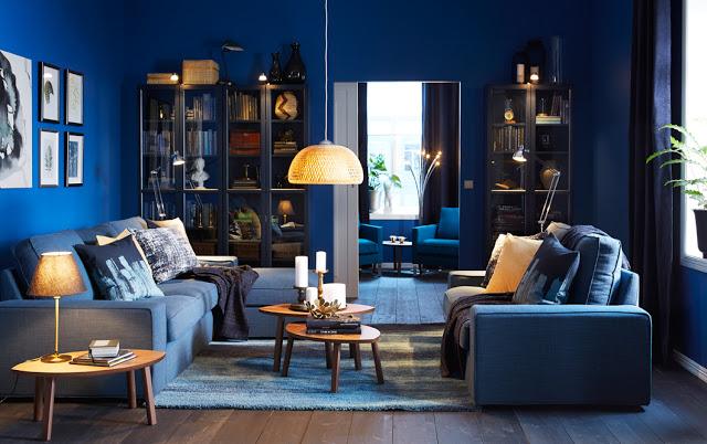Темно-синий комфорт