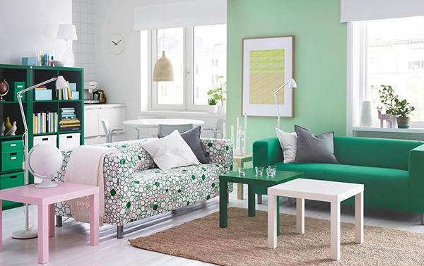 Современная скандинавская гостиная: красиво, недорого, уютно