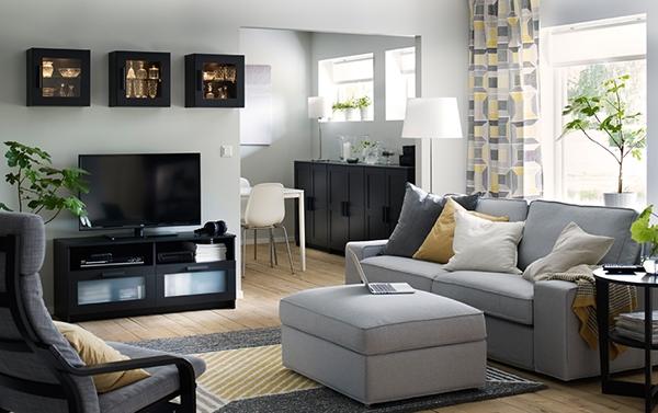 Мебель для TV и удобное хранение в гостиной