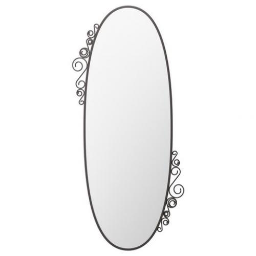 Овальные и круглые зеркала