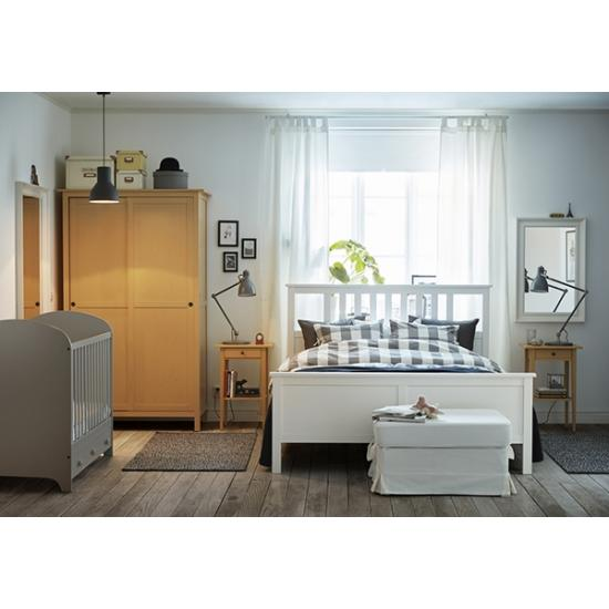 Оформление спальни в шведском стиле