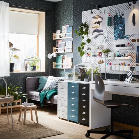 Стильный и недорогой кабинет