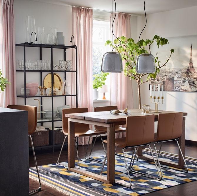 Прочная и стильная столовая для пары