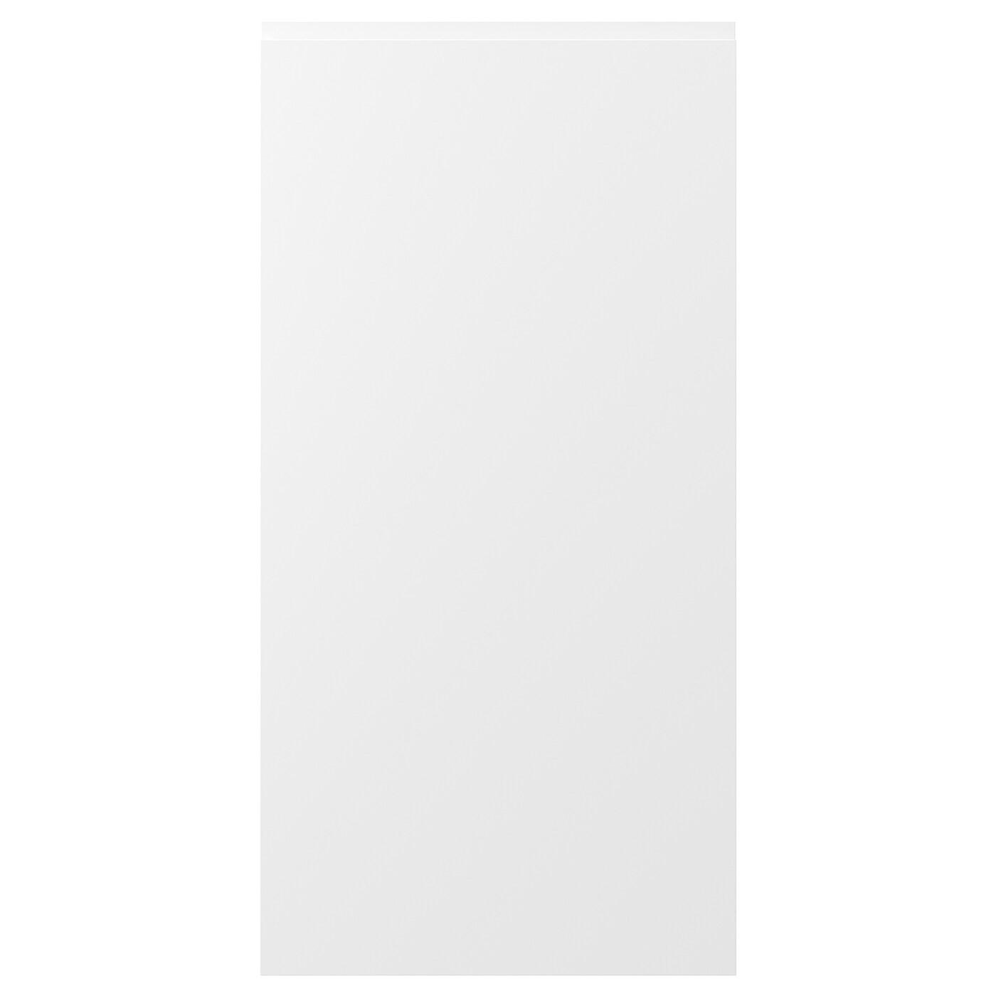 IKEA VOXTORP дверь матовый белый 60 x 120 см 00273180
