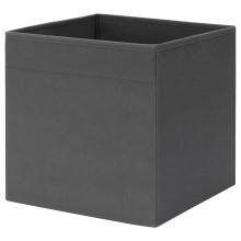 IKEA FYSSE коробка темно-серый 30x30x30 см 404.199.15