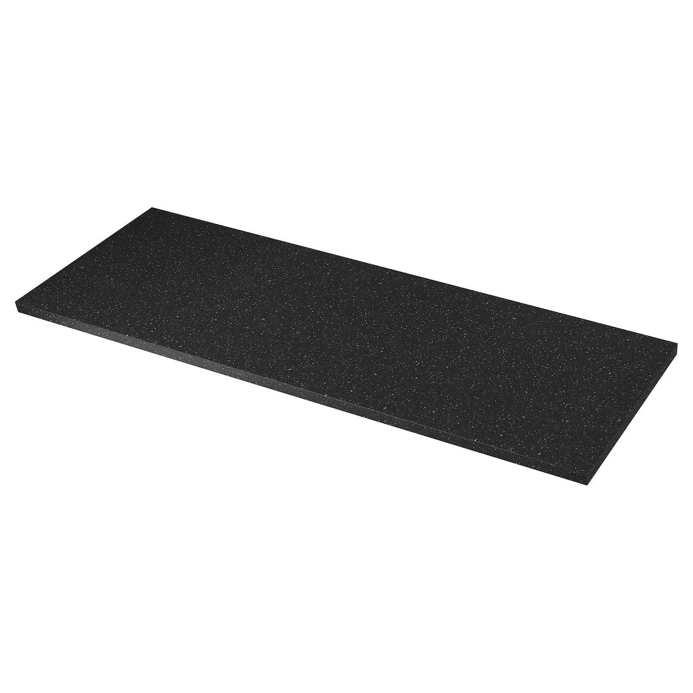 IKEA SÄLJAN столешница черный под минерал/ламинат 63.5 см 702.022.07