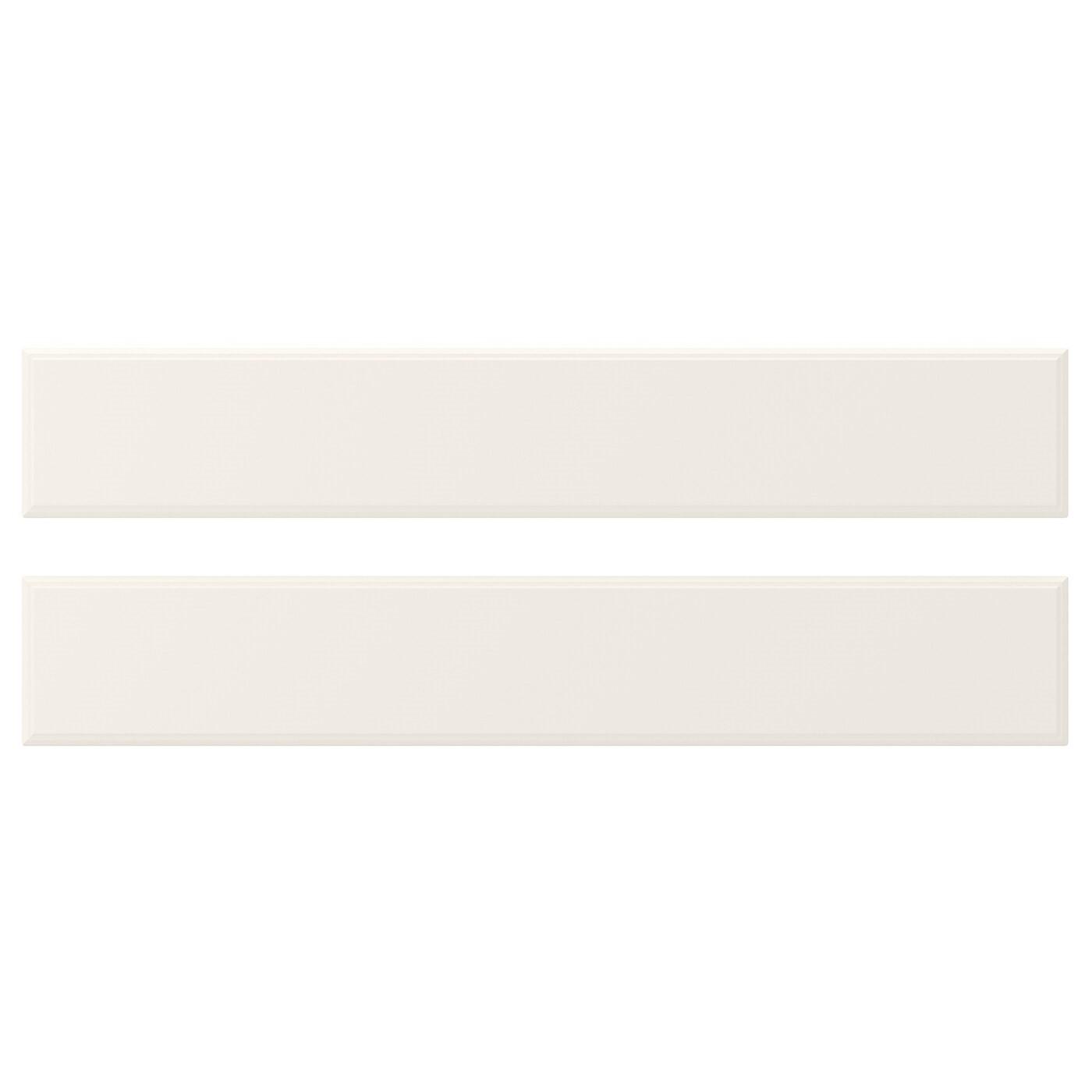 IKEA BODBYN фронтальная панель ящика белый с оттенком 59.7x9.7 см 50205495