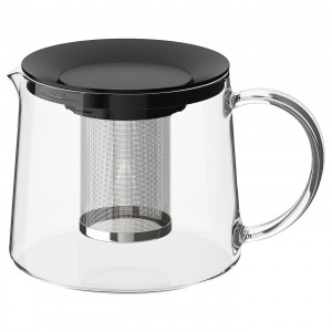 RIKLIG чайник заварочный стекло 13 см