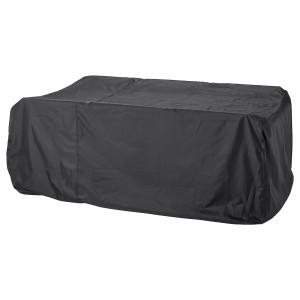 TOSTERÖ чехол для мебели д/комплекта столовой мебели/черный 135x215 см