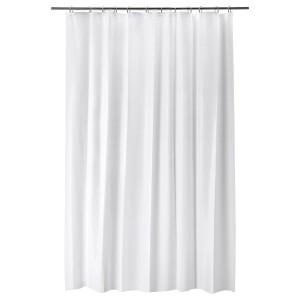 BJÄRSEN Штора для ванной, белый, 180x200 см