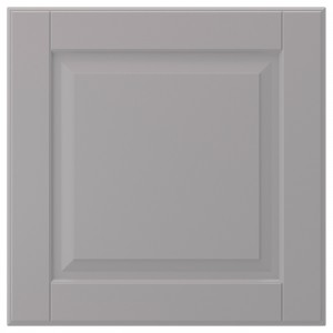 БУДБИН Фронтальная панель ящика, серый, 40x40 см