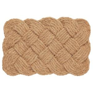STAVREBY придверный коврик для дома ручная работа/спираль естественный 40x60 см