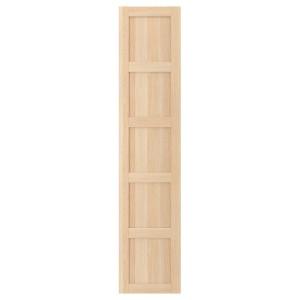 BERGSBO дверь под беленый дуб 49.5x229.4 см