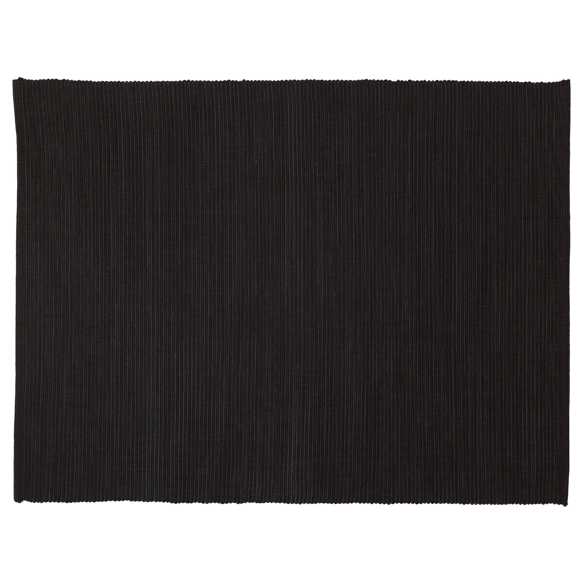 IKEA МЭРИТ Подкладка под приборы, черный, 35x45 см 802.461.83