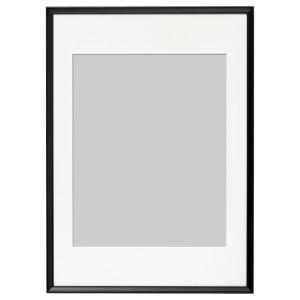 КНОППЭНГ Рама, черный, 50x70 см