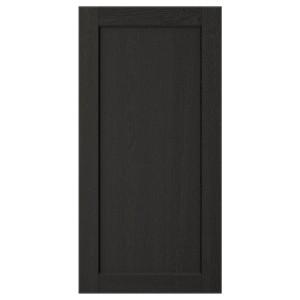 ЛЕРХЮТТАН Дверь, черная морилка