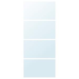 АУЛИ 4 панели д/рамы раздвижной дверцы, Зеркало, 100x236 см