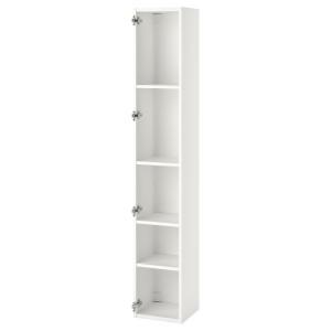 ENHET Высокий шкаф с 4 полками, белый, 30x30x180 см