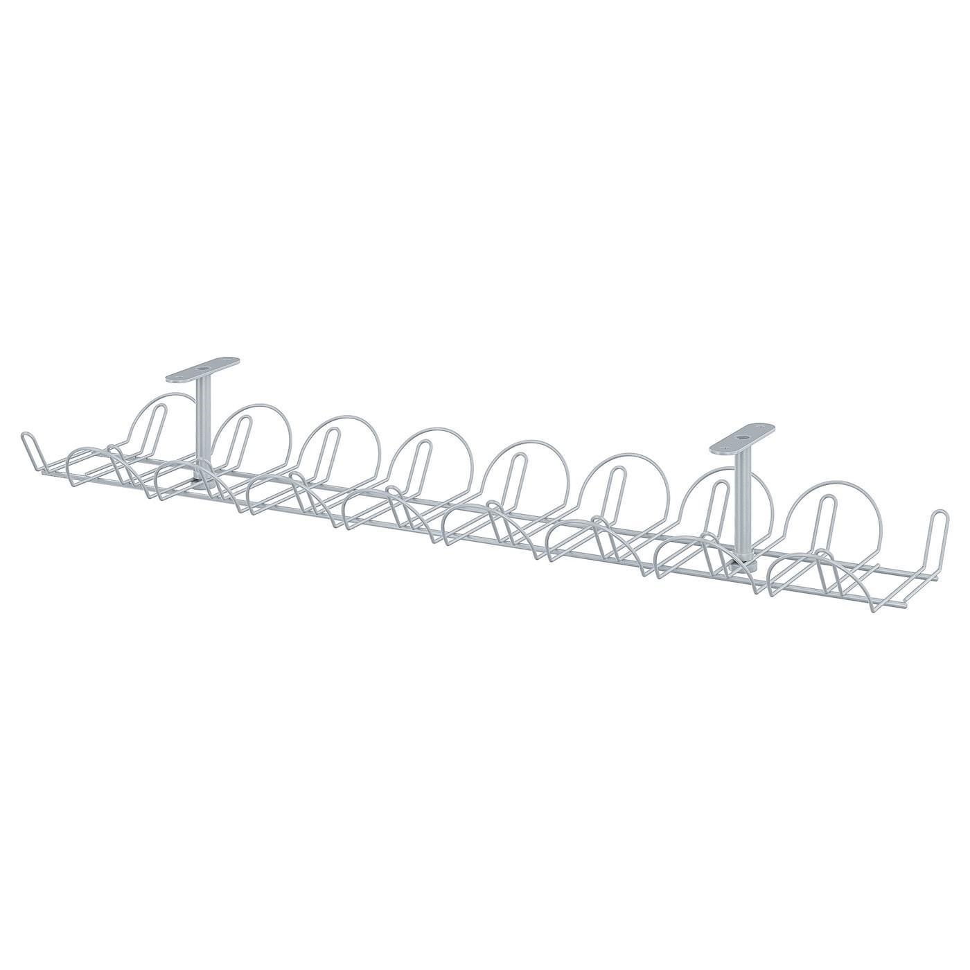 IKEA СИГНУМ Канал для кабеля горизонтальный, серебристый, 70 см 302.002.53
