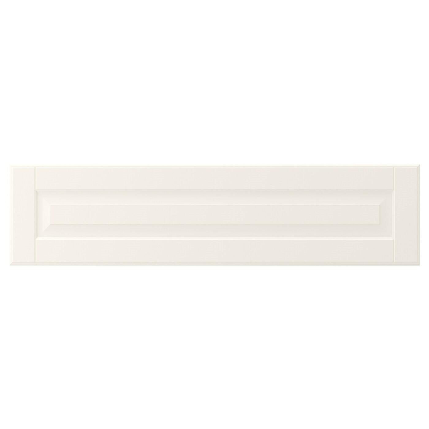 IKEA БУДБИН Фронтальная панель ящика, белый с оттенком, 80x20 см 902.054.98