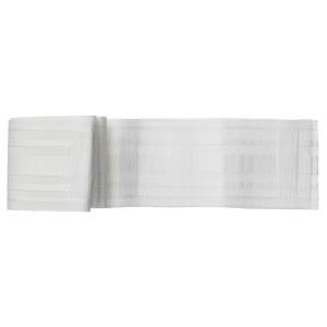 КРОНИЛЛ Гардинная тесьма, белый, 8.5x310 см