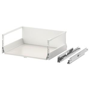 МАКСИМЕРА Выдвижной ящик, высокий, белый, 60x45 см