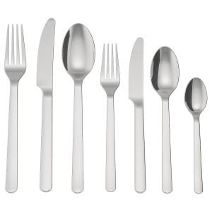 ИКЕА/365+ Набор столовых приборов, 56 штук, нержавеющ сталь