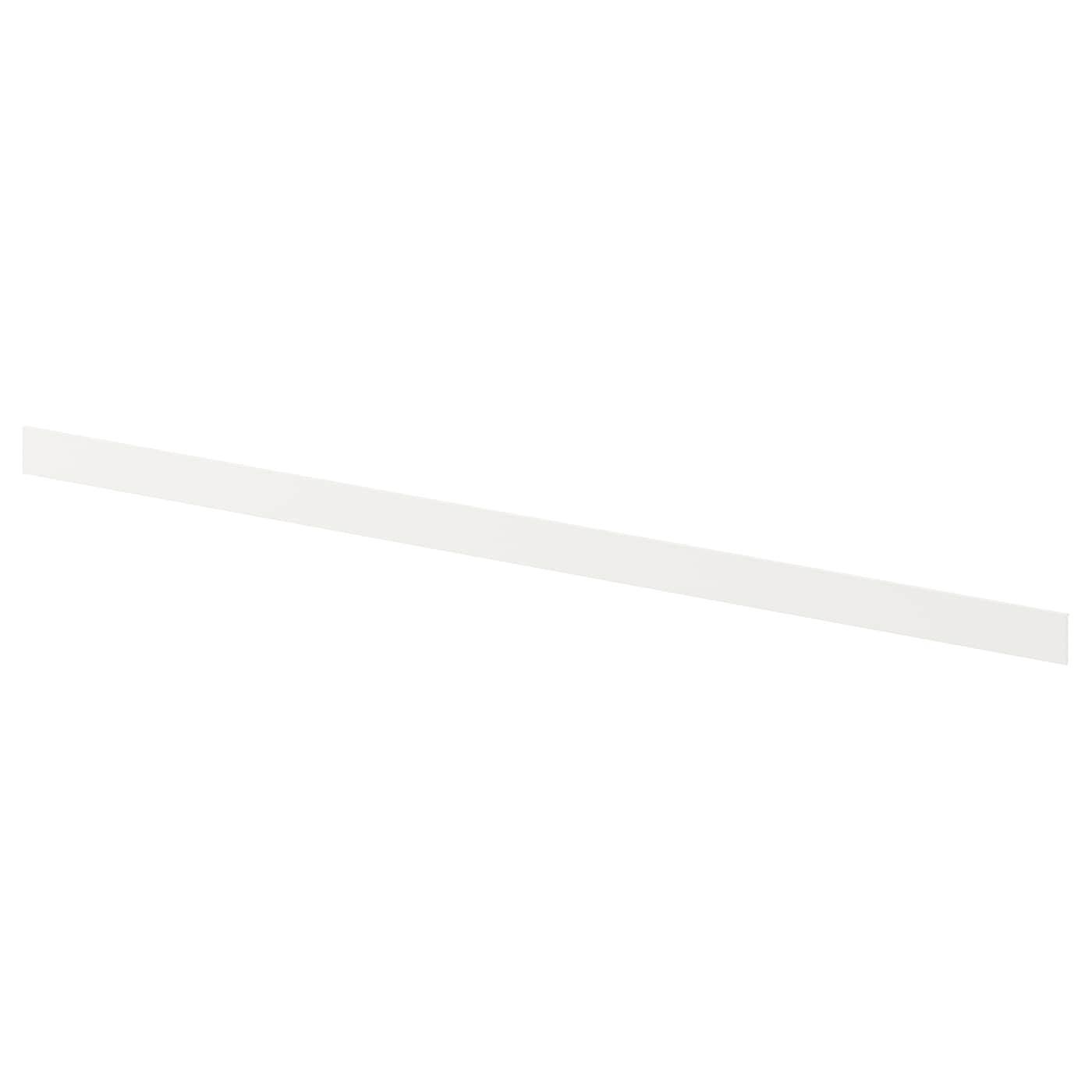 IKEA FÖRBÄTTRA торцевая полоса и крепления белый 2.2x59.7 см 602.534.00