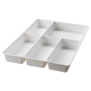 STÖDJA лоток для столовых приборов белый 31x50x4.5 см