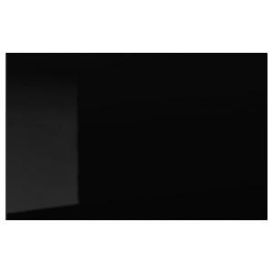 SELSVIKEN дверь/фронтальная панель ящика глянцевый черный 60x38 см