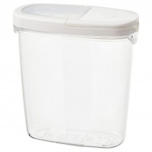 IKEA IKEA 365+ контейнер+крышка д/сухих продуктов прозрачный/белый 8x18 см 800.667.23