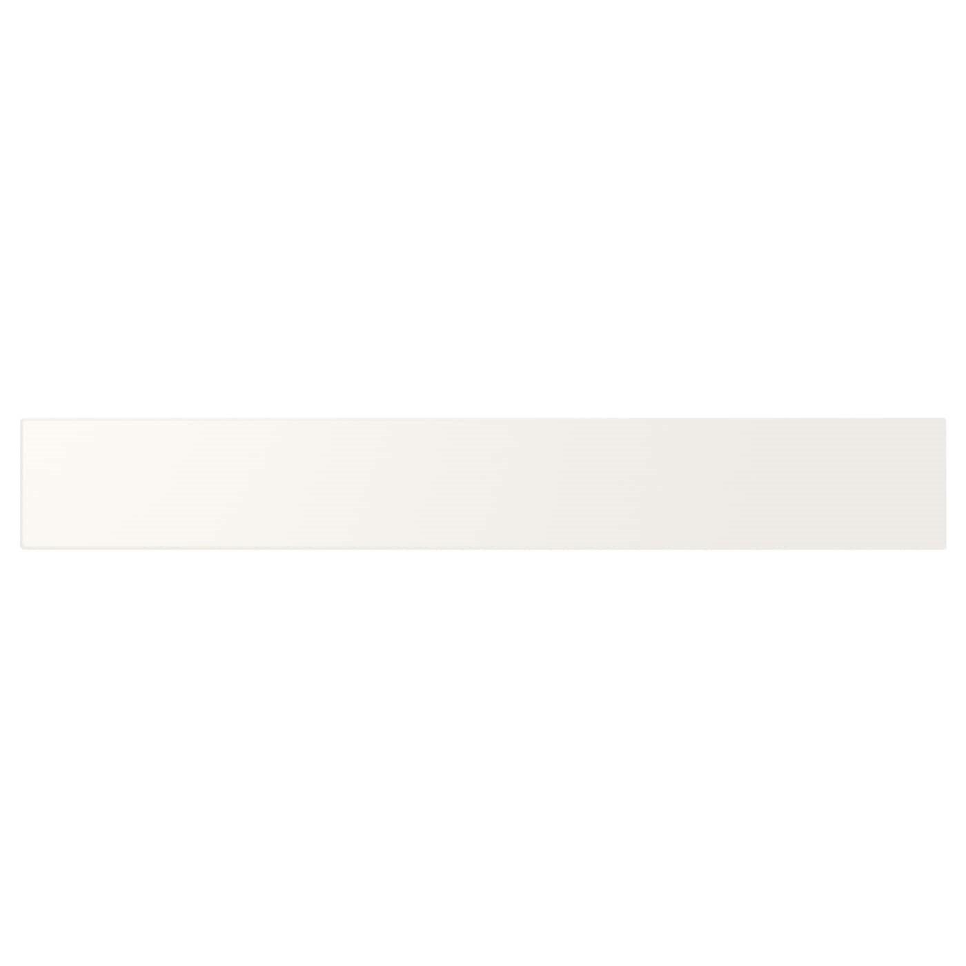 IKEA UTRUSTA фронтальная панель ящика, низкая белый 55.5x8 см 402.046.51