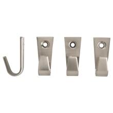 IKEA БЛЕККА Крючок, никелированный 4 см 400.313.73