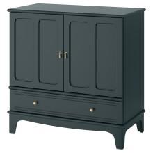 IKEA LOMMARP Шкаф, темный сине-зеленый, 102x101 см 804.154.68