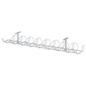 SIGNUM СИГНУМ Канал для кабеля горизонтальный, серебристый, 70 см