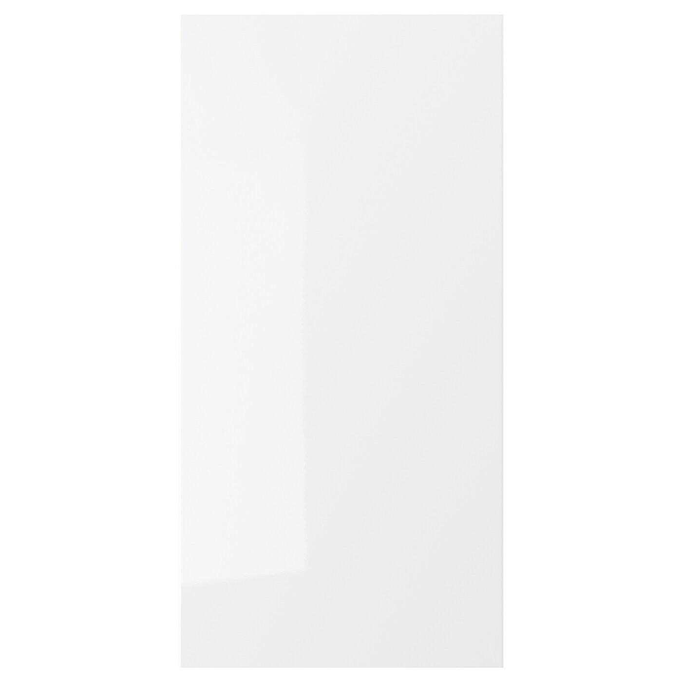 IKEA RINGHULT дверь глянцевый белый 40 x 80 см 302.050.95