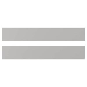 ЛЕРХЮТТАН Фронтальная панель ящика, светло-серый, 60x10 см