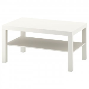 LACK журнальный стол белый 90x55x45 см