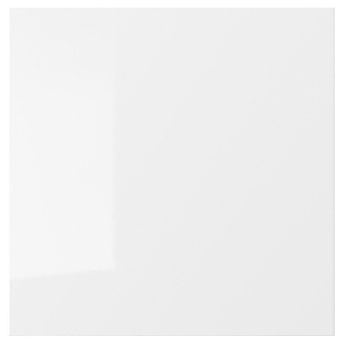 IKEA РИНГУЛЬТ Фронтальная панель ящика, глянцевый белый, 40x40 см 802.050.88