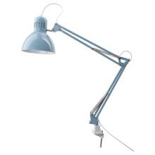 IKEA ТЕРТИАЛ Настольная лампа - голубой
