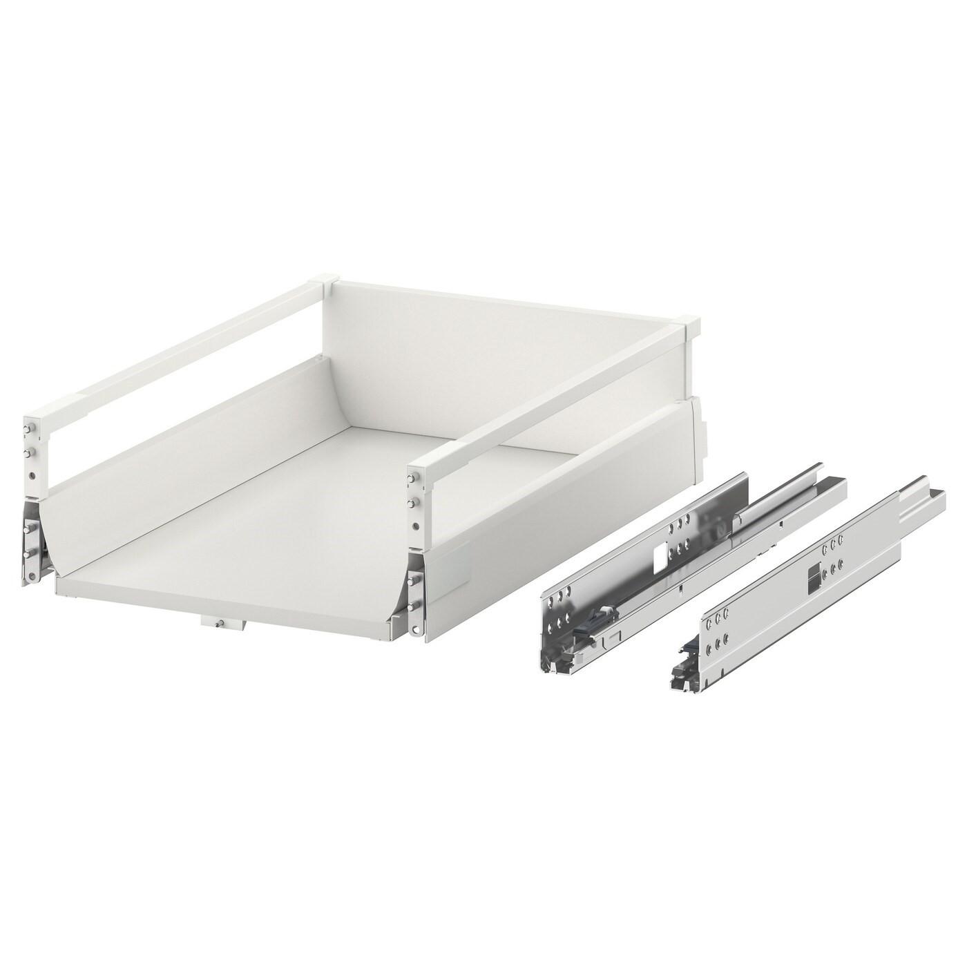 IKEA МАКСИМЕРА Выдвижной ящик, средний, белый, 40x60 см 402.214.48